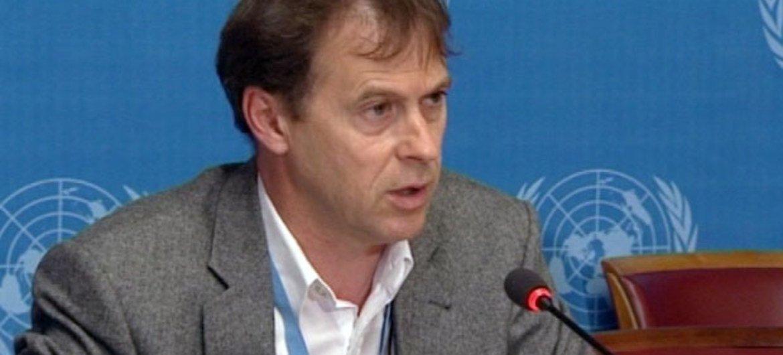 Rupert Colville, porte-parole de la Haut commissaire des Nations Unies aux droits de l'homme.