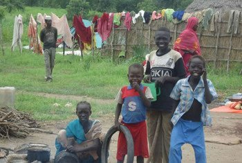 Дети-беженцы в Эфиопии