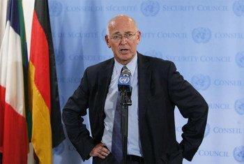 Ian Martin est Représentant spécial de l'ONU pour la Libye.