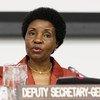 La Vice Secrétaire générale de l'ONU, Asha-Rose Migiro.