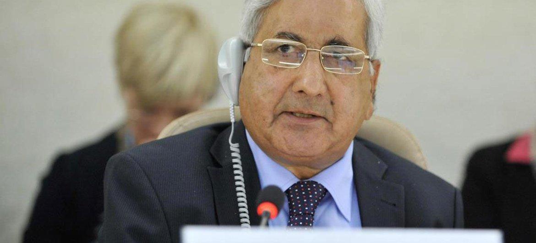 Kishore Singh, Rapporteur spécial sur le droit à l'éducation.