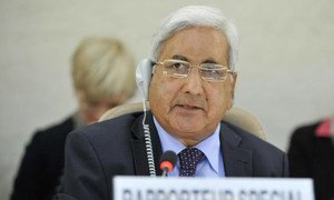 Kishore Singh, Special Rapporteur on the right to education.