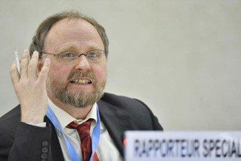 Special Rapporteur on the freedom of religion or belief Heiner Bielefeldt.