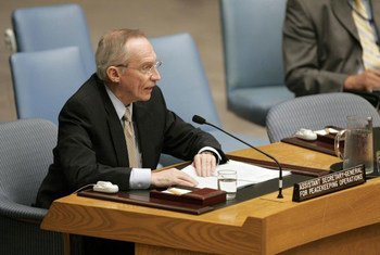 Assistant Secretary-General for Peacekeeping Operations Edmond Mulet.