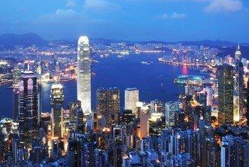 Grande ville d'Asie.