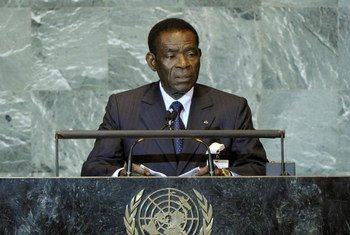 President of Equatorial Guinea Teodoro Obiang Nguema Mbasogo