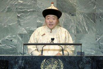 President Elbegdorj Tsakhia of Mongolia