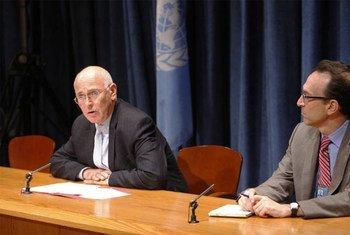 Le Représentant spécial pour la Libye, Ian Martin.