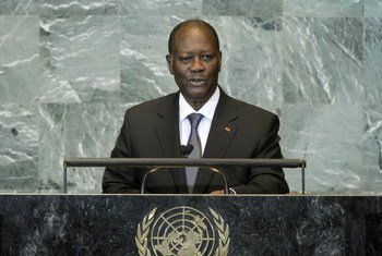 President Alassane Ouattara of Côte d'Ivoire