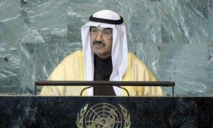 Prime Minister Sheikh Nasser Al Mohammad Al Ahmad Al Sabah of Kuwait