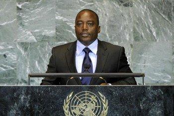 President Joseph Kabila of the Democratic Republic of the Congo (DRC)