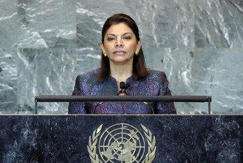Laura Chinchilla Miranda, President of Costa Rica