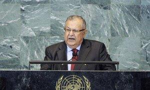 President of Iraq Jalal Talabani