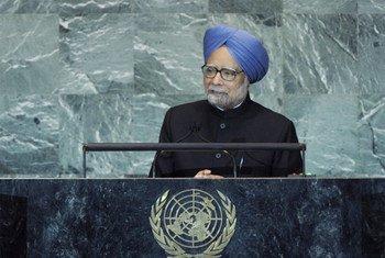 Le Premier ministre Manmohan Singh d'Inde.