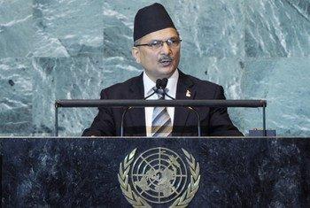 Le Premier ministre Baburam Bhattarai du Népal.