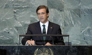 Prime Minister Pedro Passos Coelho of Portugal