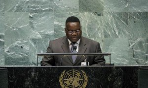 Foreign Minister of Central African Republic Antoine Gambi