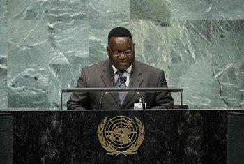 Le Ministre des affaires étrangères de République centrafricaine, Antoine Gambi.