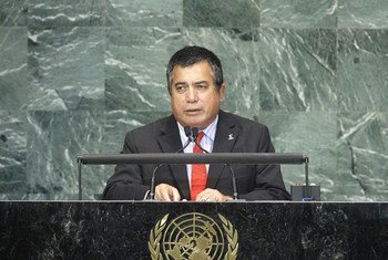 Foreign Minister of Marshall Islands John Silk