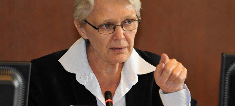 Special Representative for Disaster Risk Reduction Margareta Wahlström