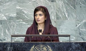 Foreign Minister Hina Rabbani Khar of Pakistan