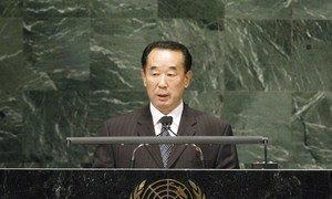 Deputy Foreign Minister Pak Kil Yon of the Democratic People's Republic of Korea