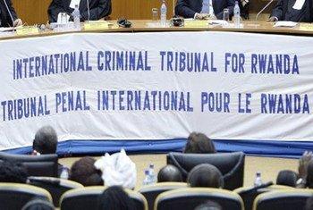 Tribunal pénal international des Nations Unies pour le Rwanda (TPIR). Photo ONU/Mark Garten