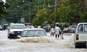 Millions of people have been affected by floods ravaging many countries in Asia