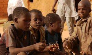 Des enfants au Niger.
