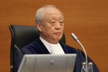 Judge Shunji Yanai of Japan, President of the International Tribunal for the Law of the Sea