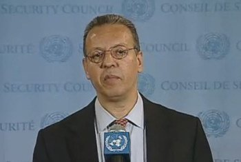 Le Conseiller spécial de l'ONU sur le Yémen, Jamal Benomar.
