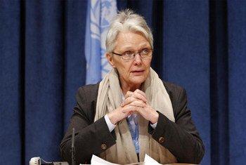 Margareta Wahlström, Assistant Secretary-General for Disaster Risk Reduction.