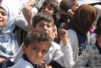 Children in Iraq.