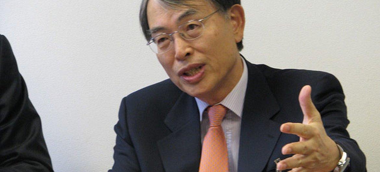 International Criminal Court President Sang-Hyun Song