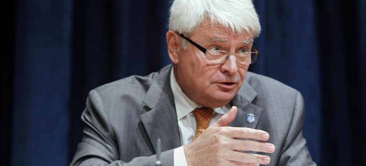 UN peacekeeping chief Hervé Ladsous holds press conference