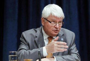 Le chef des opérations de maintien de la paix, Hervé Ladsous.