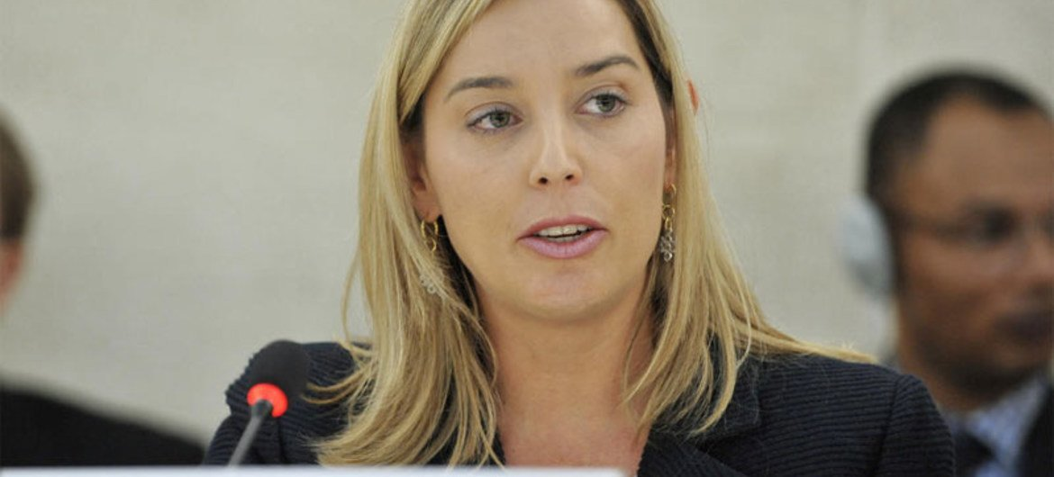 Special Rapporteur on the Independence of Judges and Lawyers Gabriela Knaul.