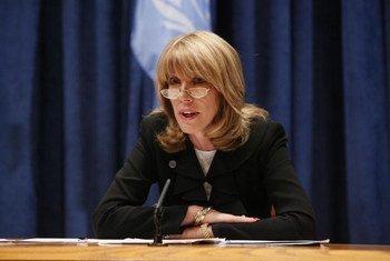 Patricia O'Brien, Under-Secretary-General for Legal Affairs.