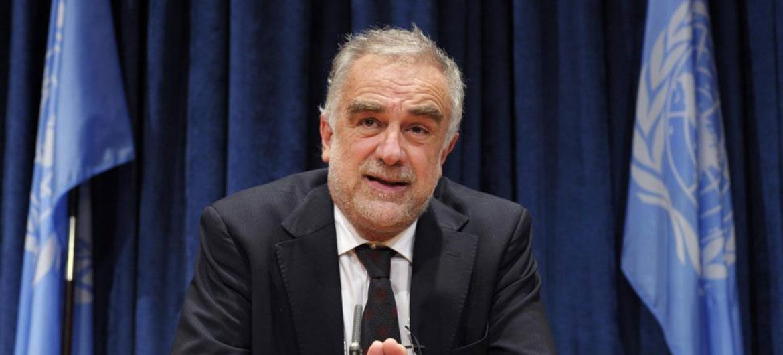 Le Procureur de la Cour pénale internationale (CPI), Luis Moreno-Ocampo.