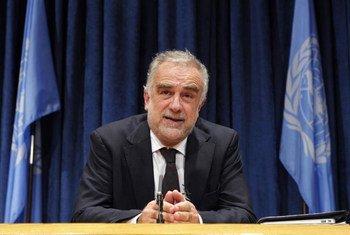 Prosecutor of the International Criminal Court Luis Moreno-Ocampo.