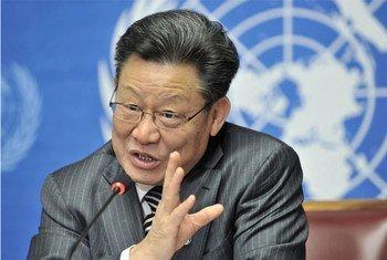 Sha Zukang, Under-Secretary-General for Economic and Social Affairs.