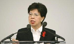 Margaret Chan, Director-General of the World Health Organization.