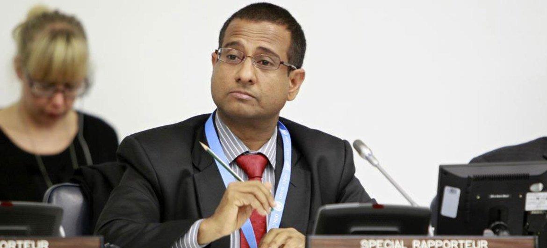 Le Rapporteur spécial sur la situation des droits de l'homme en Iran, Ahmed Shaheed.