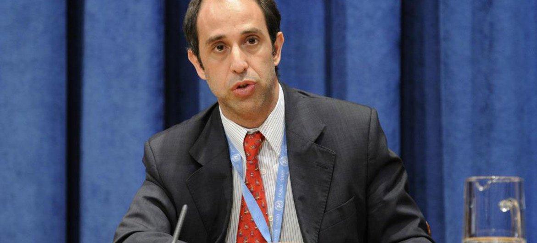 联合国朝鲜人权状况特别报告员金塔纳。
