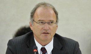 Special Rapporteur Christof Heyns.