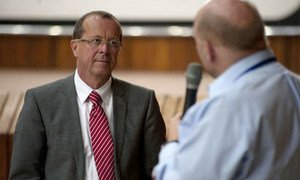 Martin Kobler, Special Representative of the Secretary-General, and Head of the UN Assistance Mission for Iraq.