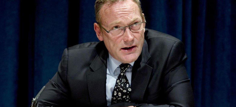 Le Rapporteur spécial sur la lutte contre le terrorisme et les droits de l'homme, Ben Emmerson.