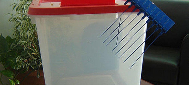 Urna electoral. Foto de archivo.