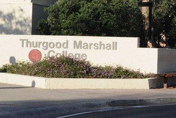 Thurgood Marshall College.