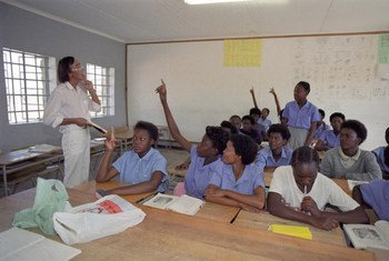 Education secondaire. Photo ONU/Eskinder Debebe